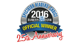 The Hamilton Spectator's 2016 Reader's Choice Award Winner